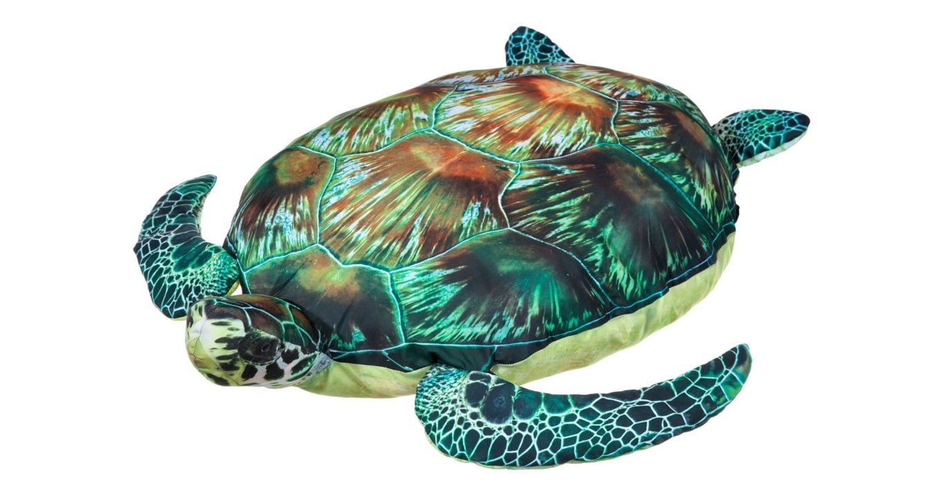 Huge Stuffed Sea Turtle - Giant Pillow - 32'' Long by BPS