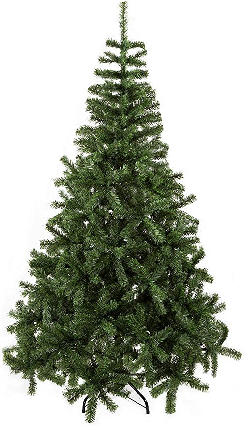 850 Branch Tips for Lush Looking Tree Stand Artificial Christmas Pine Trees 3 Separable Sections Holiday Decorations Christmas Tree Xmas Tree 6.5ft Christmas Tree