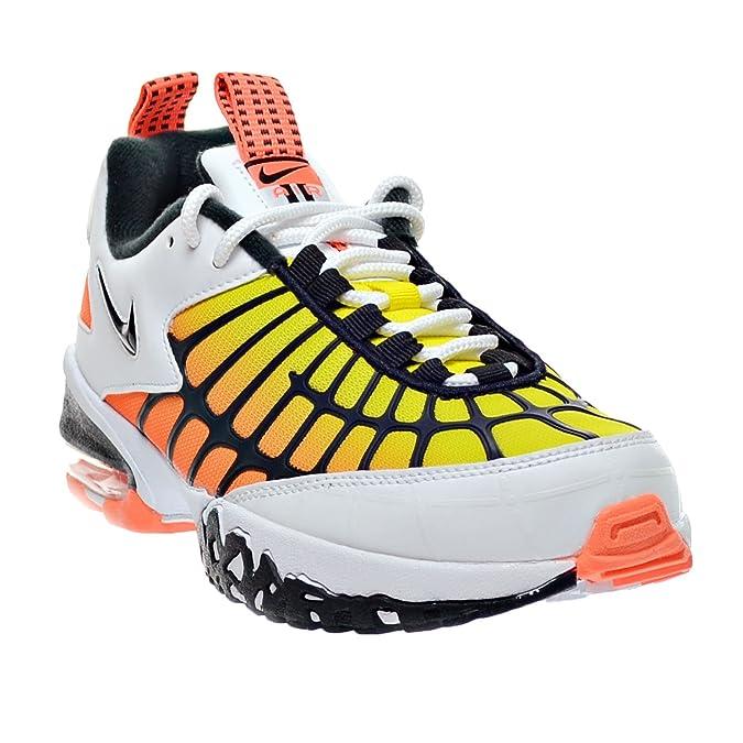 Amazon.com | NIKE Air Max 120 Men's Shoes White/Black/Hyper Orange/Optic  Yellow 819857-100 (13 D(M) US) | Fashion Sneakers