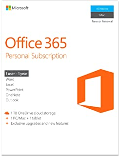amazon com microsoft office home and business 2016 1 user pc