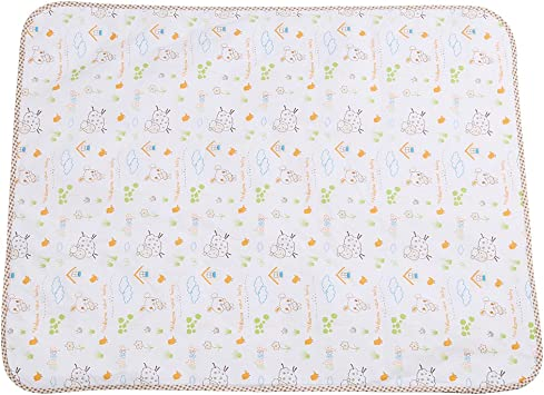 S Portable Changing Mat 100/% Cotton Diaper Changing Padding Multi-Function Nappy Bedding Changing Cover Pad Baby Changing Pad