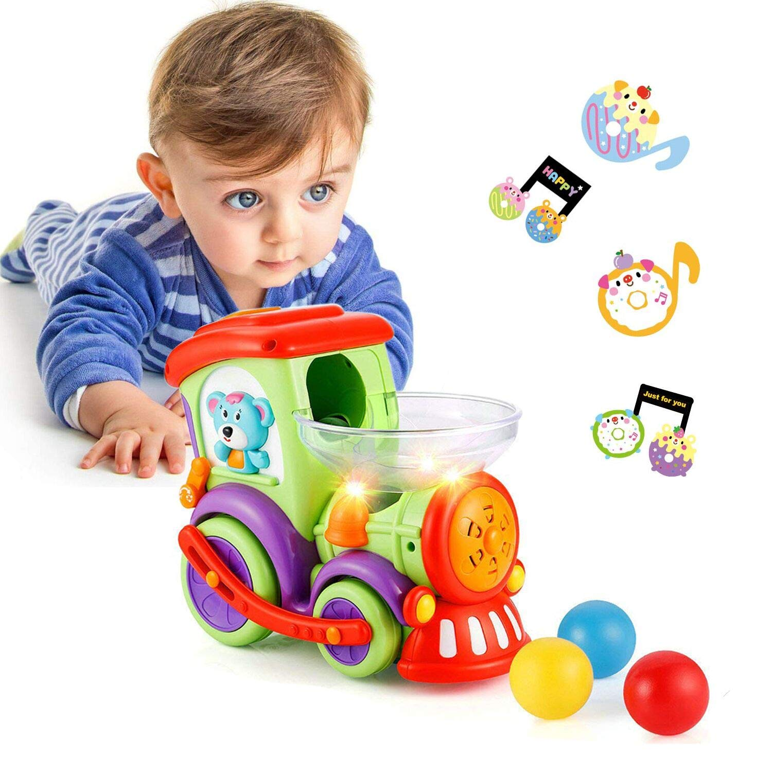 LUKAT Toddler Toy for 1 2 3 4 Years Old Baby Activity Early Educational Toys