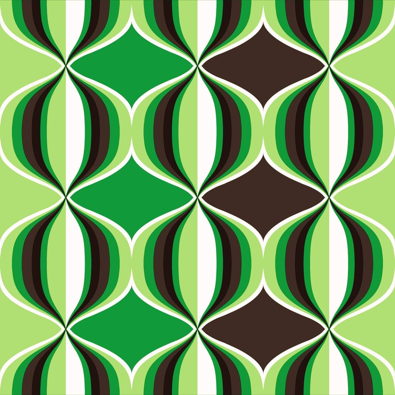 935230 papier peint graphique vert de Sanders /& Sanders