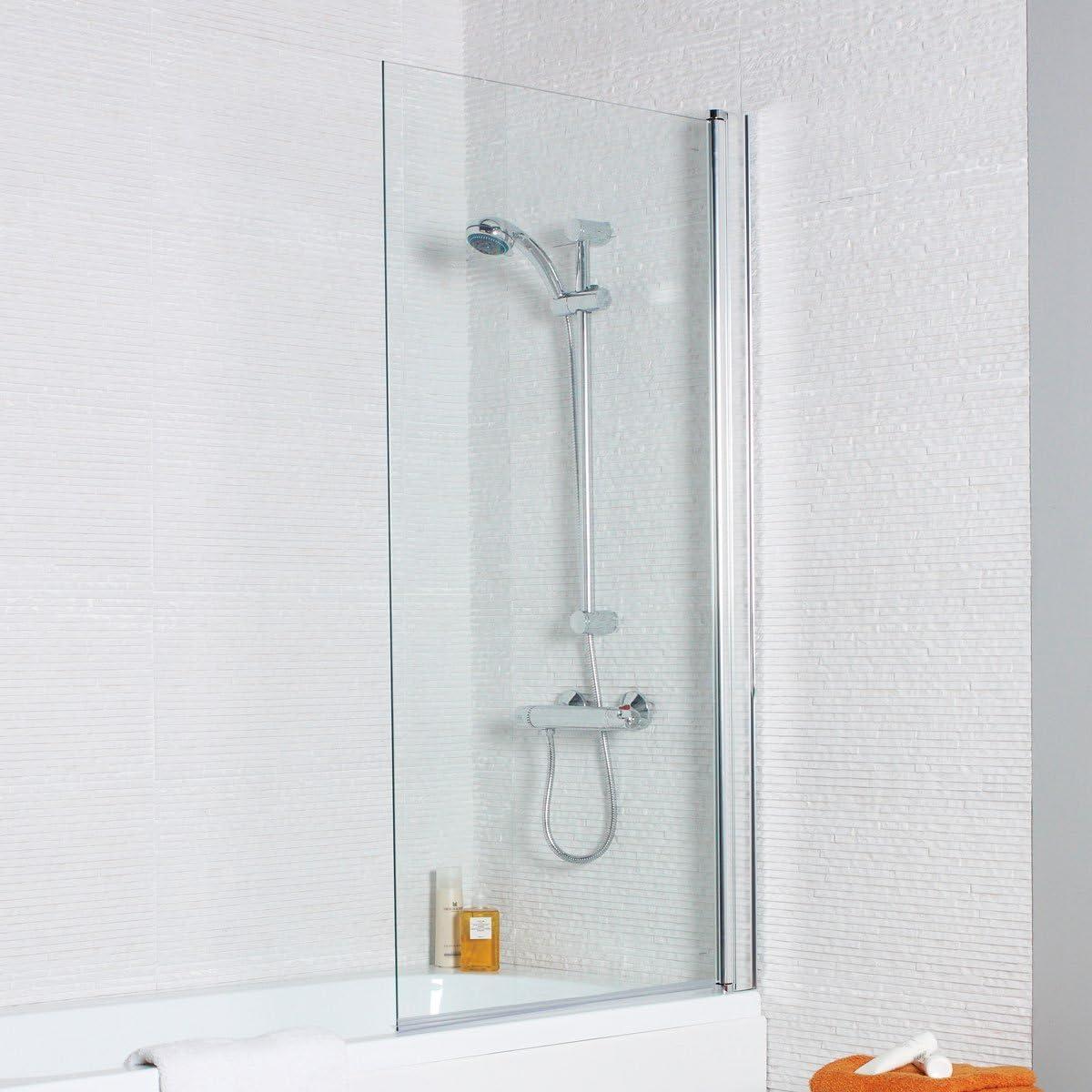 Koncept Kartell Solo Panel Cuadrado 6 mm mampara de baño: Amazon ...