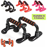 Push-Up Bar Stand Press Pull Foam Handle Bar Home Gym MMA Chest Exercise Training