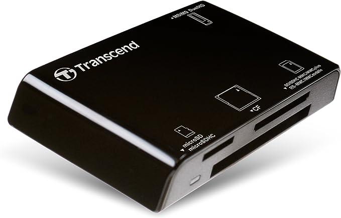 Transcend Usb 2 0 Multifunktionaler Card Reader Ts Rdp8k
