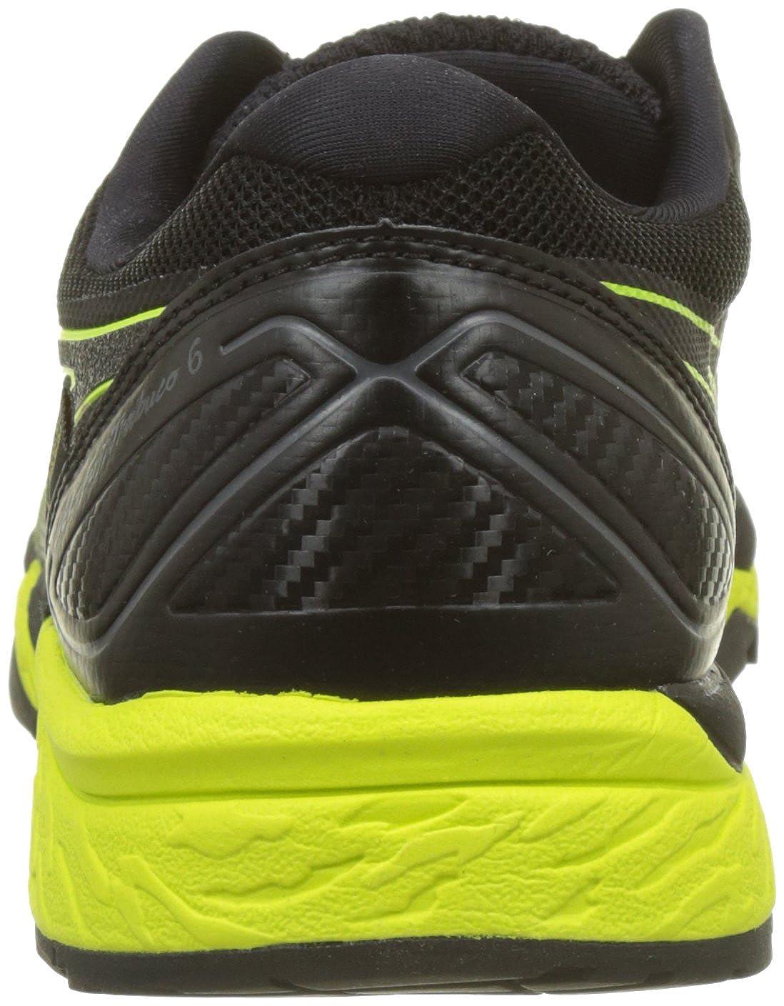 Amazon.com | Asics Gel Fuji Trabuco 6 GTX Gore-Tex Running Sport Shoes black/yellow T7F0N-9089, EU Shoe Size:42 EU | Shoes