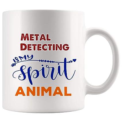 My Spirit Animal Metal Detecting Mug Coffee Cup Tea Mugs Gift | Magic Kid Children Son