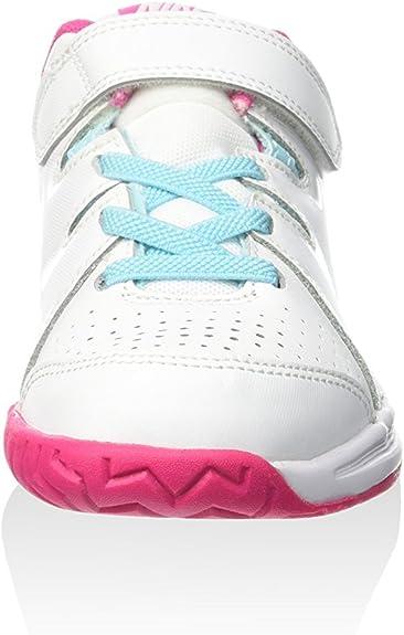 Nike Sneaker Jr Vapor Court PSV BiancoCeleste EU 30 (US