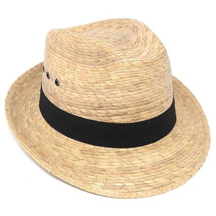 Amazon.com  Mexican Palm Leaf Straw Hat f0d4e44ee8b