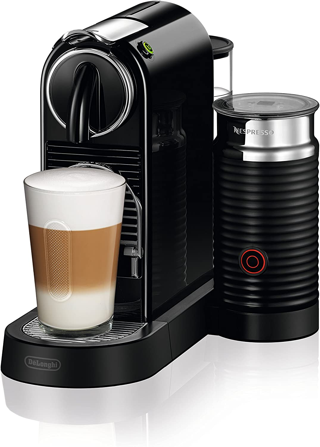 Nespresso by DeLonghi EN267BAE Original Espresso Machine Bundle with Aeroccino Milk Frother by DeLonghi, Black