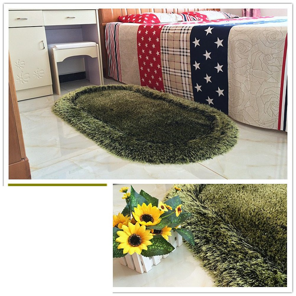Bed bed blanket Cute children's room rugs Bedroom wall-to-wall carpet-M 70x140cm(28x55inch)