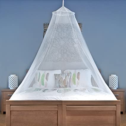 MOSQUITO NET For Single To King Size Beds   Quality Lightweight Materials,  For Home And