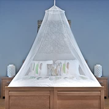 MOSQUITO NET For Single To King Size Beds - Quality Lightweight Materials u0026 NEW Snug Fit & Amazon.com: MOSQUITO NET For Single To King Size Beds - Quality ...