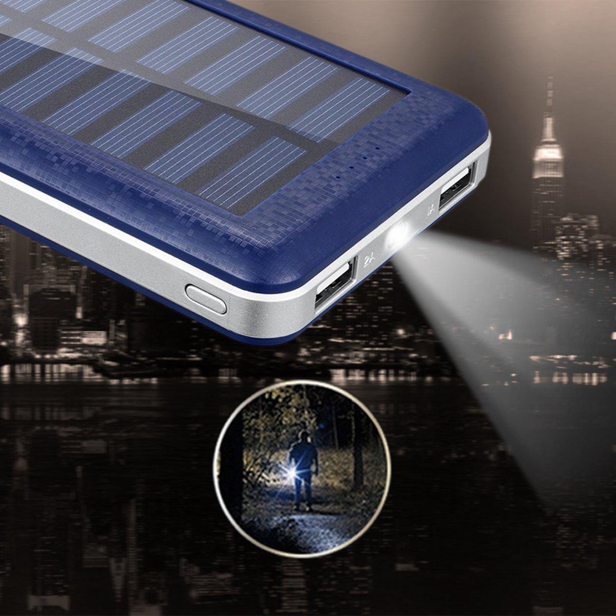 Cargador solar para el móvil de 20000mAh Aedon A8 por solo 19,99€