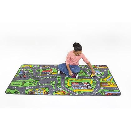 Learning Carpets Extra Large City Life Play Carpet Amazon