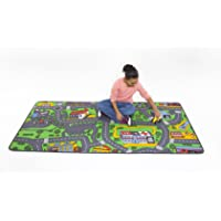 Learning Carpets Aprendizaje Alfombras 91,4x 200,7cm Hoja de alfombras, Vida citadina