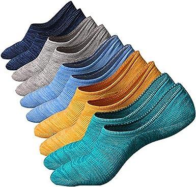 SZSMART Calcetínes del Tobillo Calcetines Cortos Sneaker de ...