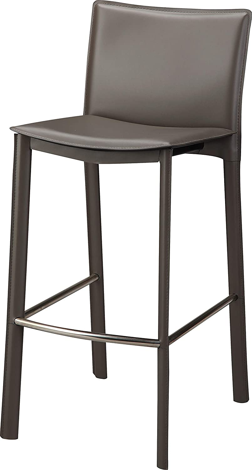 Mod Home Collection Ponka Counter Stool, Charcoal