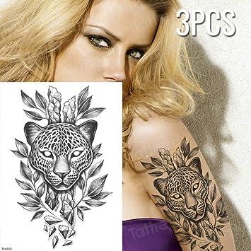 Handaxian 3 Piezas boceto Tatuaje diseño Tatuaje ángel Duradero ...