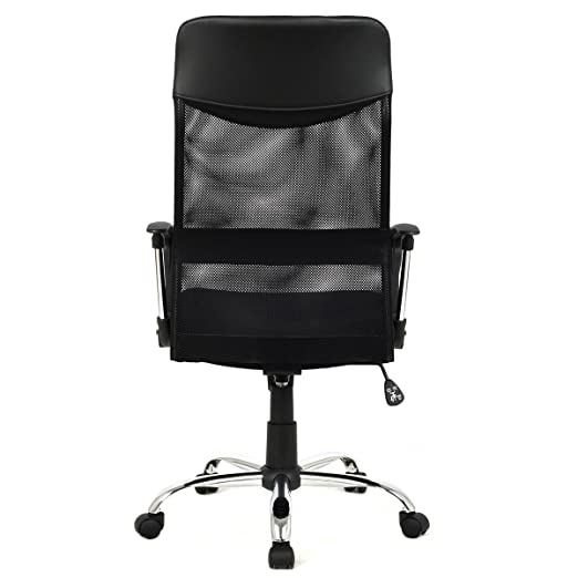 apontus black mesh mid back computer office chair. amazon.com: apontus high back executive mesh office chair swivel tilt computer desk: kitchen \u0026 dining black mid e