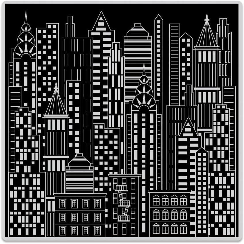 Urban Skyline 6 x 6 Hero Arts CG728 Bold Prints