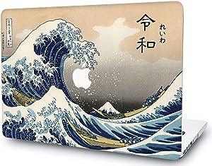 "Ocean WavesLaptop Case for Old MacBook Pro 15"" Retina (2012 2013 2014 2015 Release) Matte Plastic Case Hard Shell Cover A1398 RQTX sea Spray"