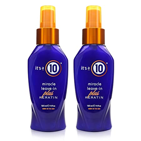 It s a 10 Miracle Leave-In Plus Keratin 4oz Pack of 2