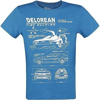 delorean t shirt