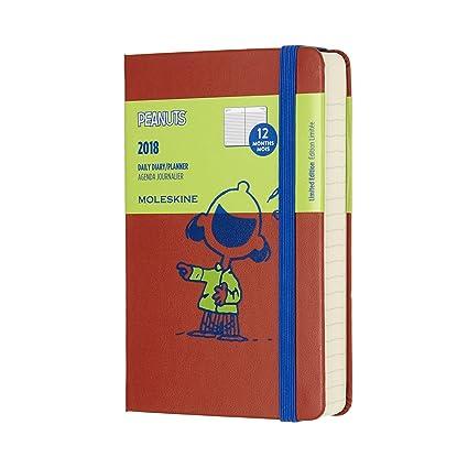 Moleskine Cuaderno y calendario de la semana, Peanuts, 18 ...