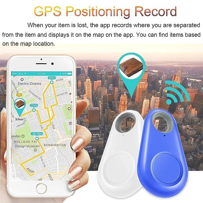 Dadiku New Bluetooth Smart Tracer GPS Locator Tag Alarm Wallet Key Pet Dog Tracker