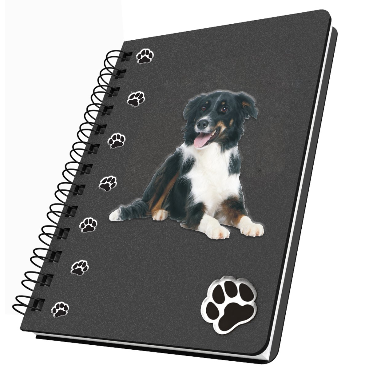 Got Yo Gifts Border Collie Acrylic Journal, Medium