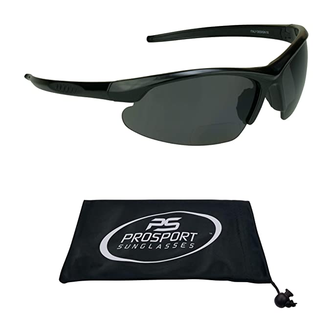 c8175957057 Image Unavailable. Image not available for. Color  proSPORT Polarized  Bifocal Sunglasses for Men and Women. Anti Glare Impact Resistant  Polycarbonate Lenses