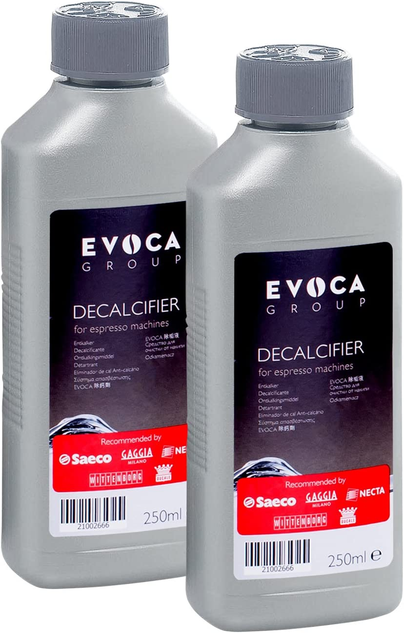 Saeco Gaggia Decalcifier for Espresso Coffee Machines, 250 ml - Pack of 2