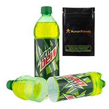 Mountain Dew Diversion Safe compartimento oculto para botella puede ...