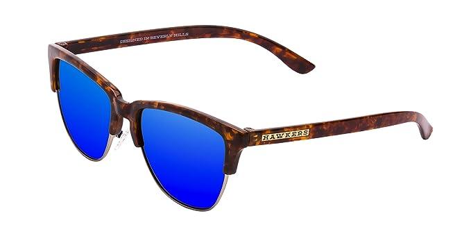Hawkers · CLASSIC · Carey · Sky · Gafas de sol para hombre y mujer