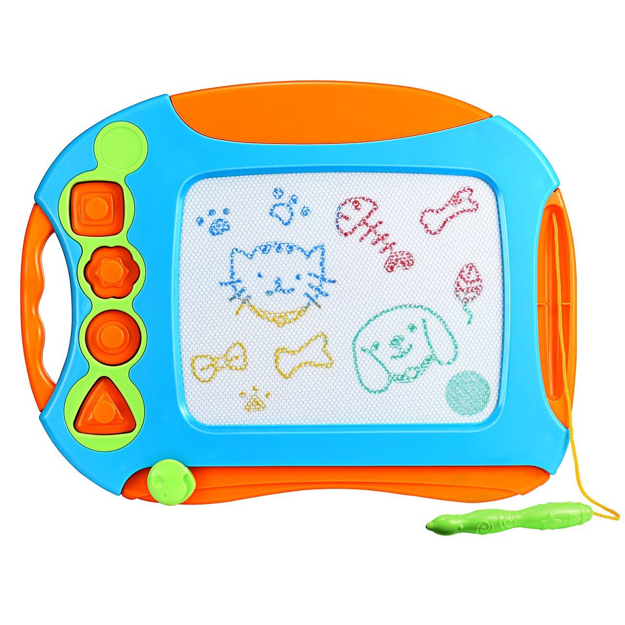 Pizarra Mágica para Niños VicTsing Colorido Magnetica Tablero de Dibujo Infantil Viaje