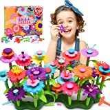 Snoky Birthday Gifts for Girls Age 3-12 Flower Garden Building Toys for Girls Ages 4-8 Kids Toys 4-5 Year Old…