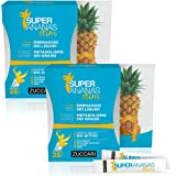 Miglior Prezzo - 2 Confezioni - Super Ananas Slim Integratore Alimentare per il Drenaggio dei Liquidi - 25 Bustine - Zuccari