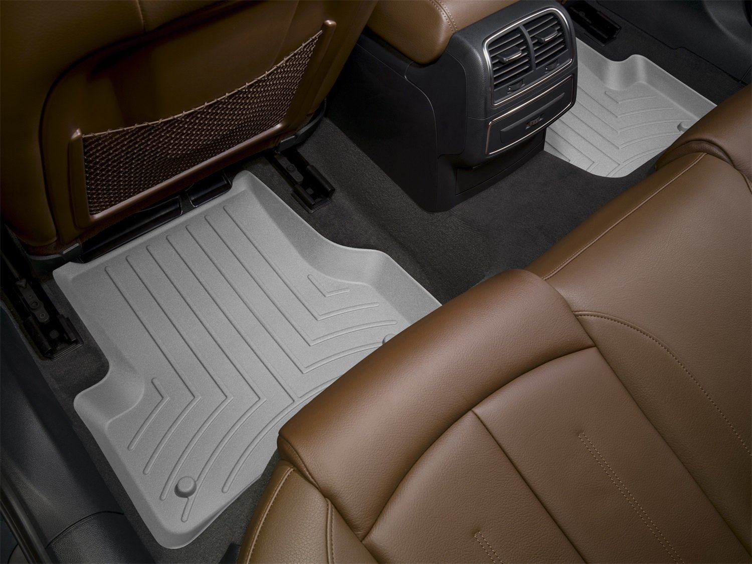 WeatherTech First and Second Row FloorLiner (Grey) by WeatherTech (Image #2)