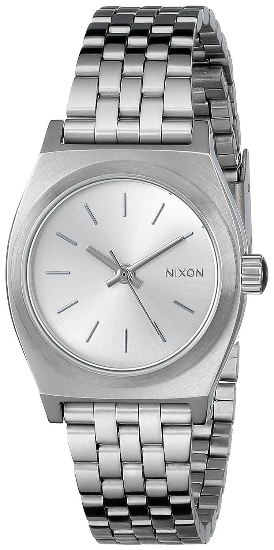 Nixon レディース腕時計 スモールタイムテラー ステンレススチール One Size シルバートーン B00J2HTTF4 シルバートーン シルバートーン