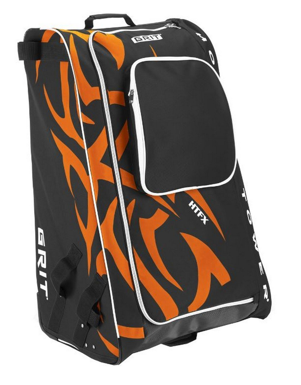 Grit Inc HTFX Hockey Tower 36'' Wheeled Equipment Bag Orange HTFX036-PH (Philly) by Grit