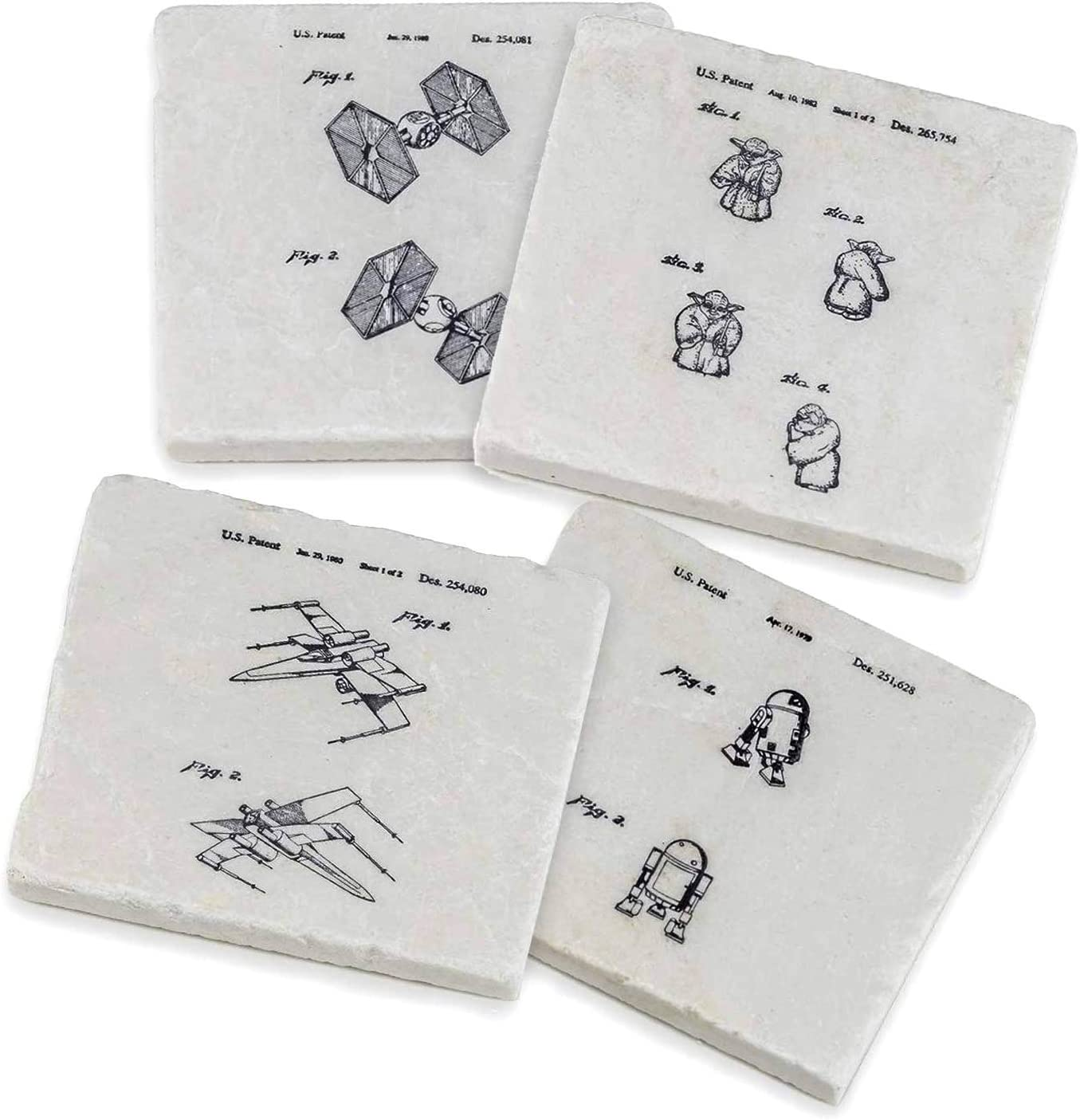 Star Wars Gifts - Home Decor Stone Coasters