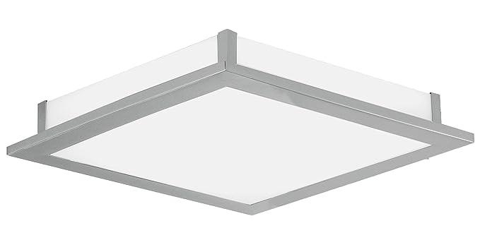 Eglo led auriga w nichel bianco illuminazione da soffitto