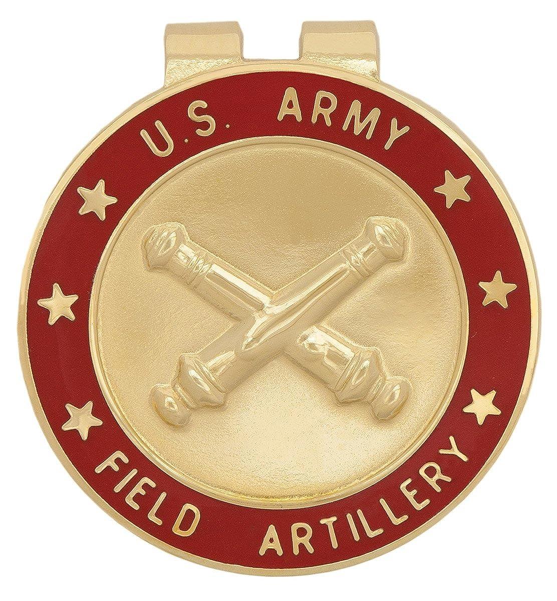 U.S Army Field Artillery FA Branch Of Service Money Clip