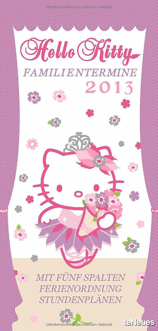 Hello Kitty Familientermine 2013