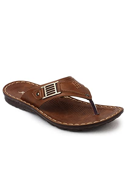 f46d57286fdf Action Shoes Men s Tan Hawaii Thong Sandals - 6 UK India (39.5 EU ...