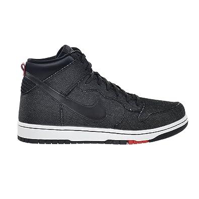 Nike Dunk Comfort - Men's Black/White/University Red/Black