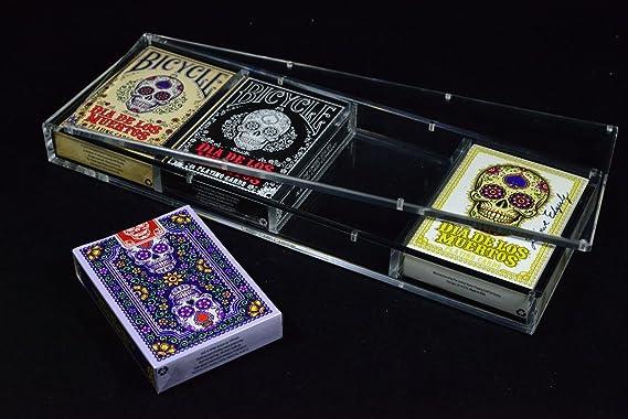 Amazon.com: Quilates x4 estuche para tarjetas 4 juego de ...