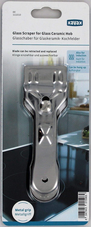 Amazon.com: Xavax Rasqueta para superficies de cocción de ...